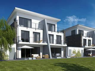 Casas minimalistas por Gritzmann Architekten Minimalista
