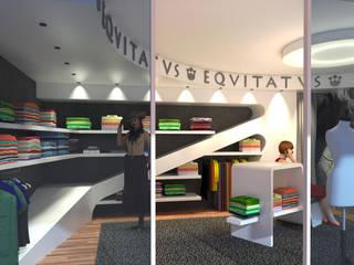 Corner abbigliamento sportivo - Sportsware store di Planet G Moderno