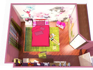 Girl's room Planet G BedroomAccessories & decoration