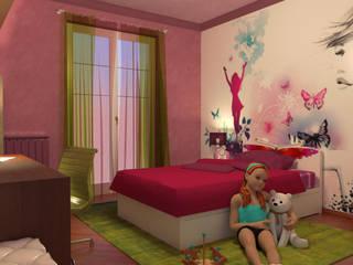 Camera per bambina - Girl's room di Planet G Moderno