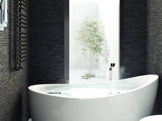 Phòng tắm phong cách hiện đại bởi GHINELLI ARCHITETTURA Hiện đại