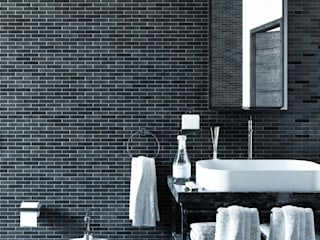 Baños de estilo  por GHINELLI ARCHITETTURA , Moderno