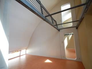 living under the barrel roof:  Schlafzimmer von allmermacke