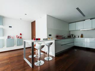 a3mais Cocinas de estilo moderno