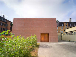Neubau Unterwerk, CH-Neuwiesen Moderne Museen von Graf Biscioni Architekten AG Modern