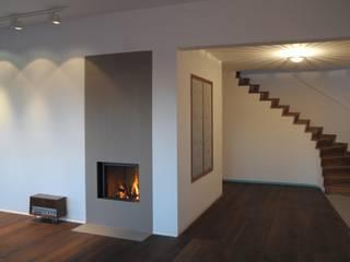 Modern Koridor, Hol & Merdivenler na3 - studio di architettura Modern