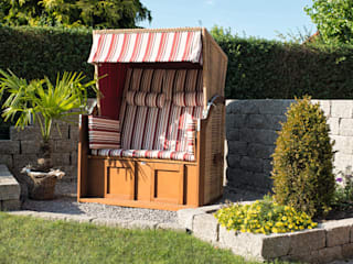 Rimini Baustoffe GmbH Mediterranean style garden Grey
