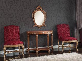 French empire style x-base chairs de Envy furniture Clásico Madera Acabado en madera