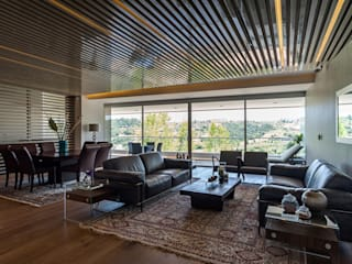Modern living room by HO arquitectura de interiores Modern