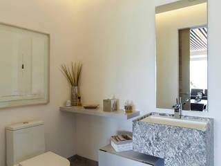 HO arquitectura de interiores 現代浴室設計點子、靈感&圖片