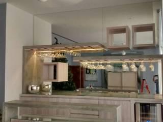 Salas/Recibidores de estilo  por HO arquitectura de interiores,