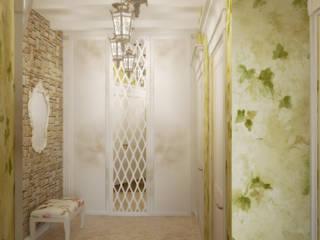 Симуков Святослав частный дизайнер интерьера Ingresso, Corridoio & Scale in stile rurale Verde