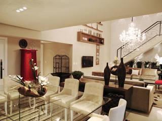 Esszimmer von INSIDE ARQUITETURA E DESIGN