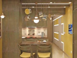 Küche von Симуков Святослав частный дизайнер интерьера
