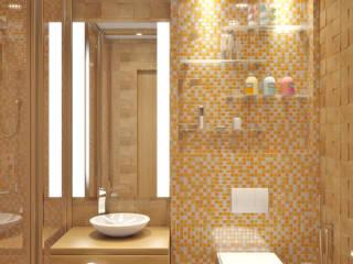Baños de estilo  por Симуков Святослав частный дизайнер интерьера