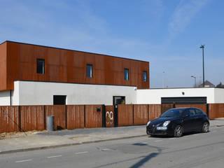 Maison Loos Maisons modernes par C+BO Moderne