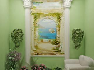 Симуков Святослав частный дизайнер интерьера Classic style media room Green