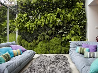 Jardines verticales Jardines modernos de Green Gallery Moderno