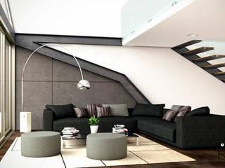 Living room by LA RORA Interiorismo & Arquitectura
