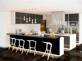 Кухни в . Автор – LA RORA Interiorismo & Arquitectura, Модерн