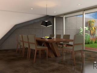 Desarrollo de Interiorísmo : Comedores de estilo  por LA RORA Interiorismo & Arquitectura