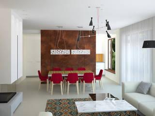 Столовые комнаты в . Автор – дизайн-студия Олеси Середы,