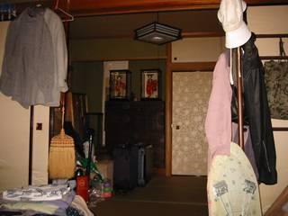 押畑の家-リフォームのコンポジション: 青戸信雄建築研究所が手掛けたです。,
