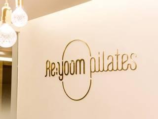 Re;yoom pilates (Dogok Branch) 모던스타일 다이닝 룸 by studio azellier 모던