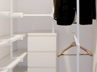 Vestidores y placares de estilo  por na3 - studio di architettura
