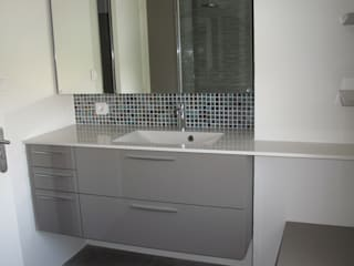 rénovation salle de bains Salle de bain moderne par Arielle Moderne