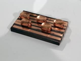 Kartenhalter CARDCOPPER Copper Elements Berlin WohnzimmerAccessoires und Dekoration Kupfer/Bronze/Messing