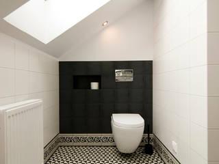 Łazienka Skandynawska łazienka od homify Skandynawski