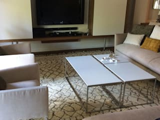 غرفة المعيشة تنفيذ DyD Interiorismo - Chelo Alcañíz, حداثي