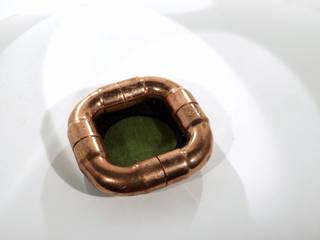 Teelichthalter TEACOPPER Copper Elements Berlin EsszimmerAccessoires und Dekoration Kupfer/Bronze/Messing