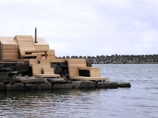 The Bands, Norway:  Houses by Scarcity and Creativity Studio