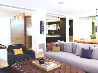 Salas de estilo moderno por Miriam Barrio