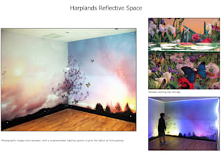 Harplands Reflective Space Country style hospitals by Emily Campbell Country