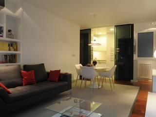 65sqm Appartment Salones de estilo moderno de MADG Architect Moderno