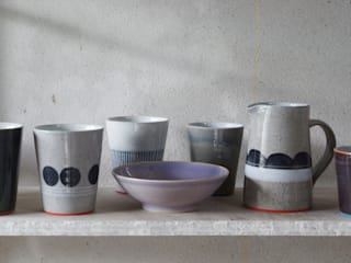 Ceramics:   by James and Tilla Waters Ceramics