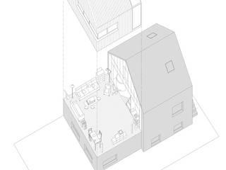 J'habite à Drancy, extension d'une maison par Atelier d'Architectures Fabien Gantois Moderne