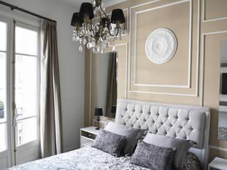 Remodelación Dormitorio Estilo Francés: Dormitorios de estilo  por Estudio Nicolas Pierry