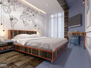eclectic Bedroom by Kornienko-Partners