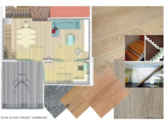 Extension sur terrasse et rénovation maison R+1 Balcon, Veranda & Terrasse modernes par I.D.E.E Moderne