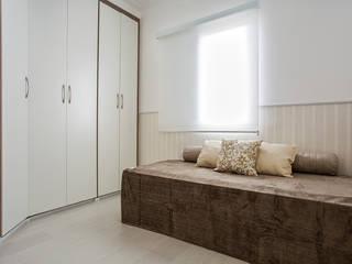 Apartamento São Bernardo Amanda Pinheiro Design de interiores Quartos modernos