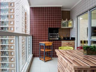 Balcones y terrazas modernos de Amanda Pinheiro Design de interiores Moderno