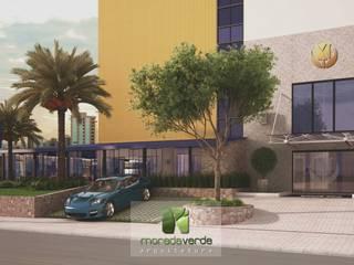 Jardin minimaliste par Moradaverde Arquitetura Ltda. Minimaliste