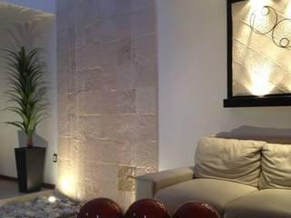 SANTIAGO PARDO ARQUITECTO 现代客厅設計點子、靈感 & 圖片