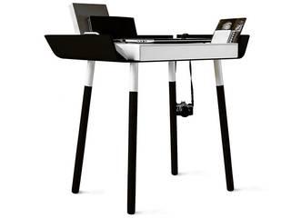 Schreibtisch My Writing Desk, 1 Schublade, Schwarz:   von Anchovisdesign