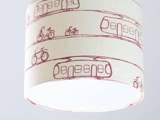 Deckenlampe Trams & Bicycles D30: moderne Schlafzimmer von Koala Designs