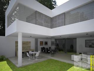 Patios & Decks by HHRG ARQUITECTOS, Modern